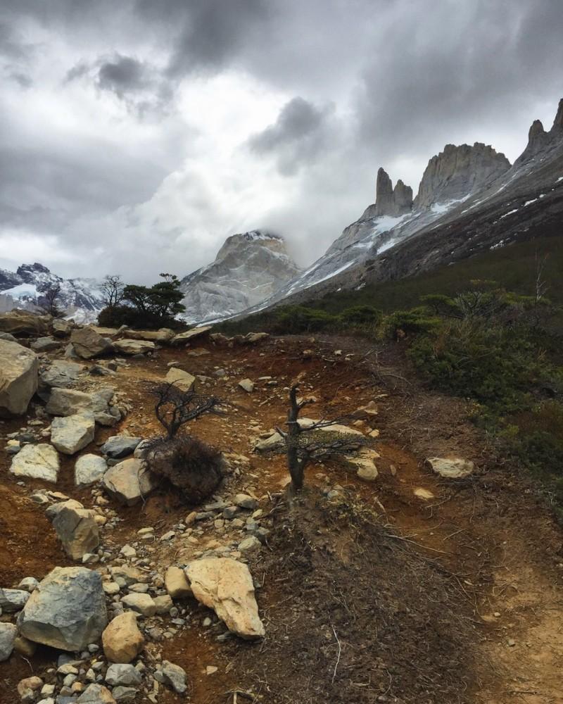 Torres del Paine Landschaft wandern French Valley