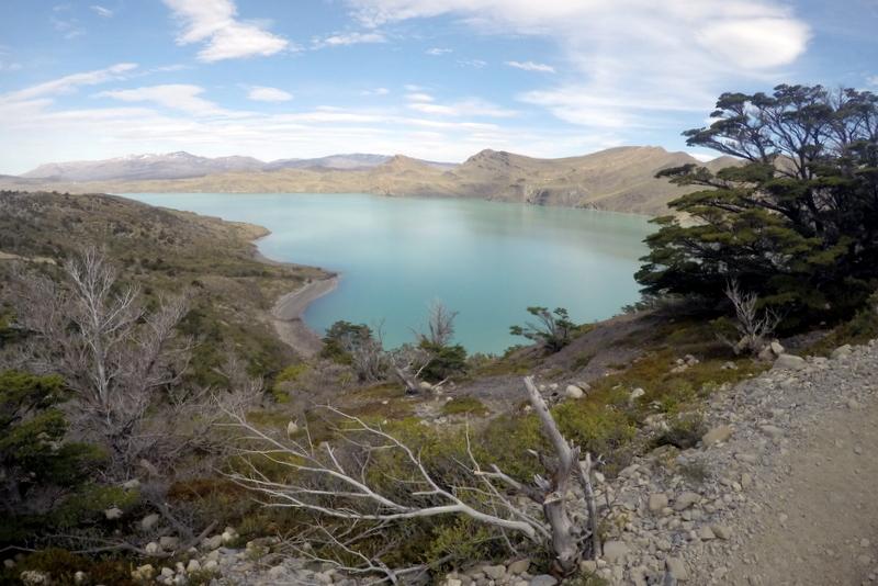 Trekking Torres del paine Lake Nordenskjöld Landschaft