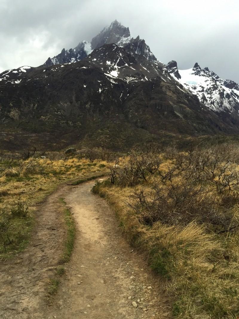 W Trek Torres del Paine Grande Wanderweg