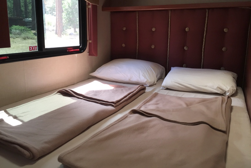 Bett Wohnmobil Camper USA