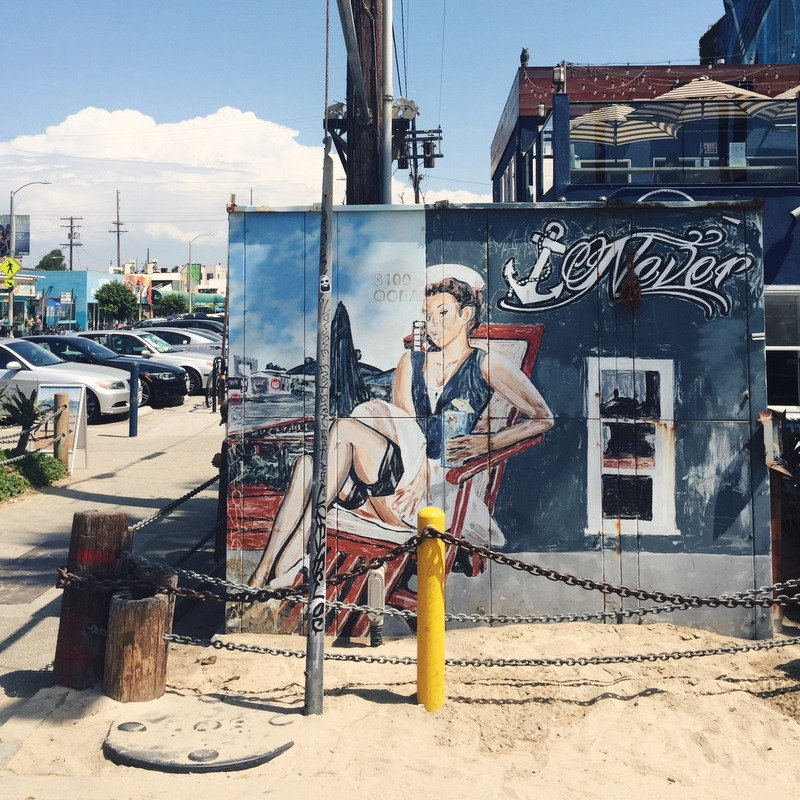 Graffiti Mural venice Beach Los Angeles Kalifornien