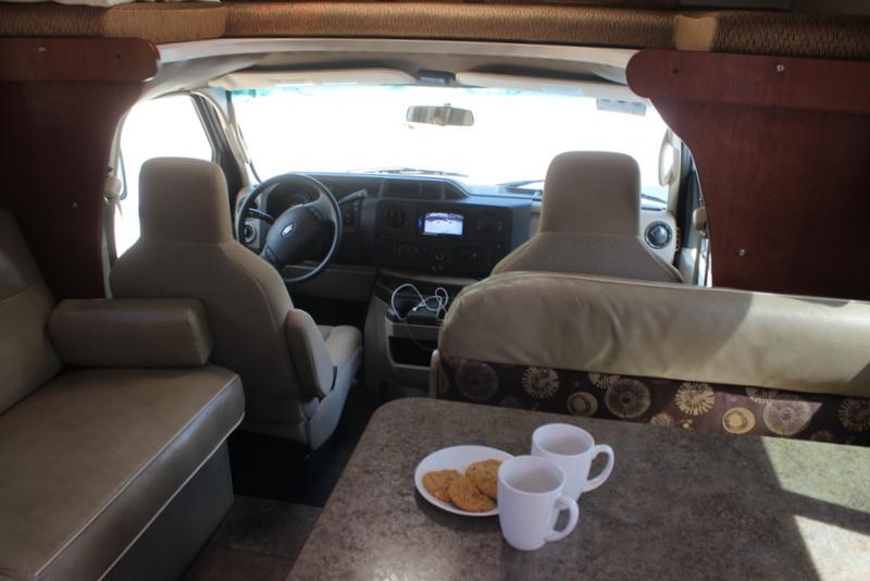 Wohnmobil USA Camper von innen