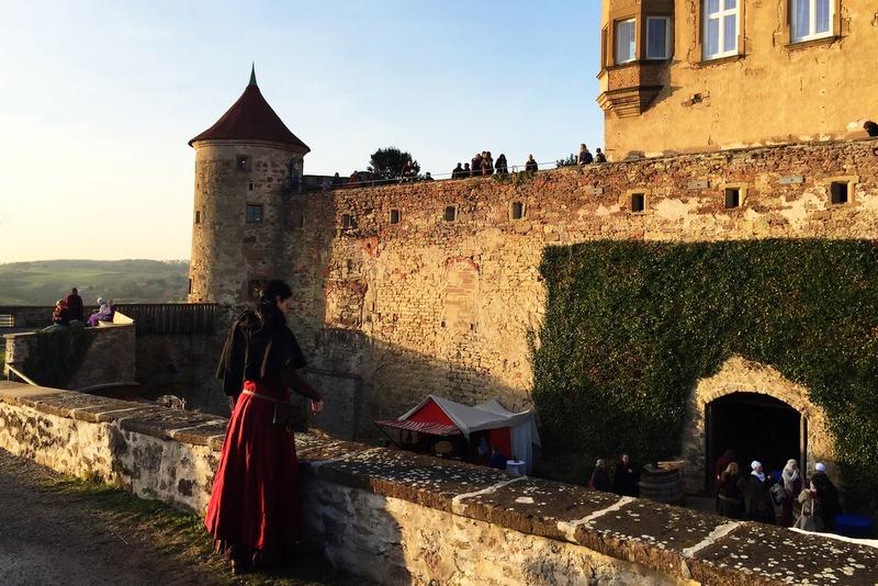 Mittelalter Weihnachtsmarkt Burg Stettenfels