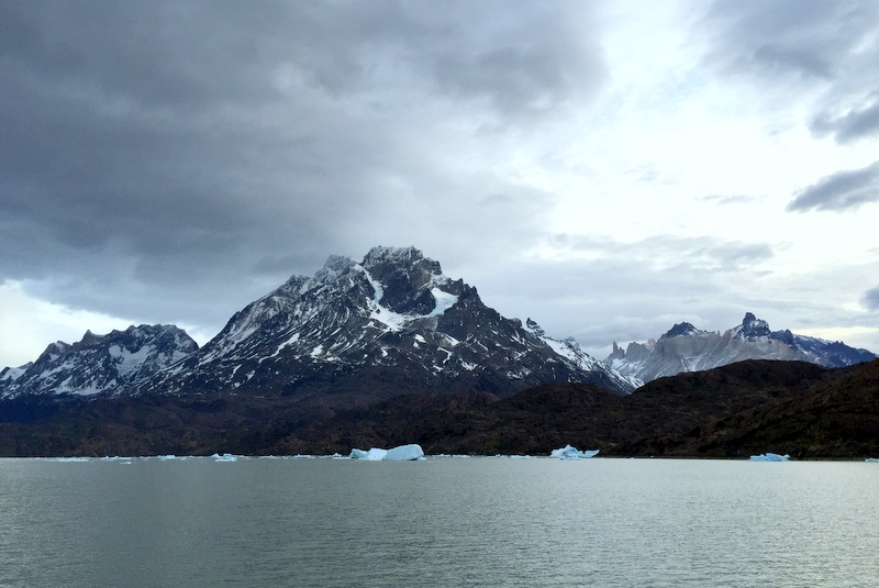 Patagonien Chile Torres del Paine Lago Grey