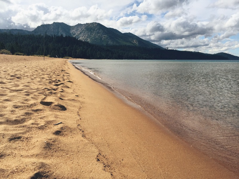 South Lake Tahoe Kalifornien Strand