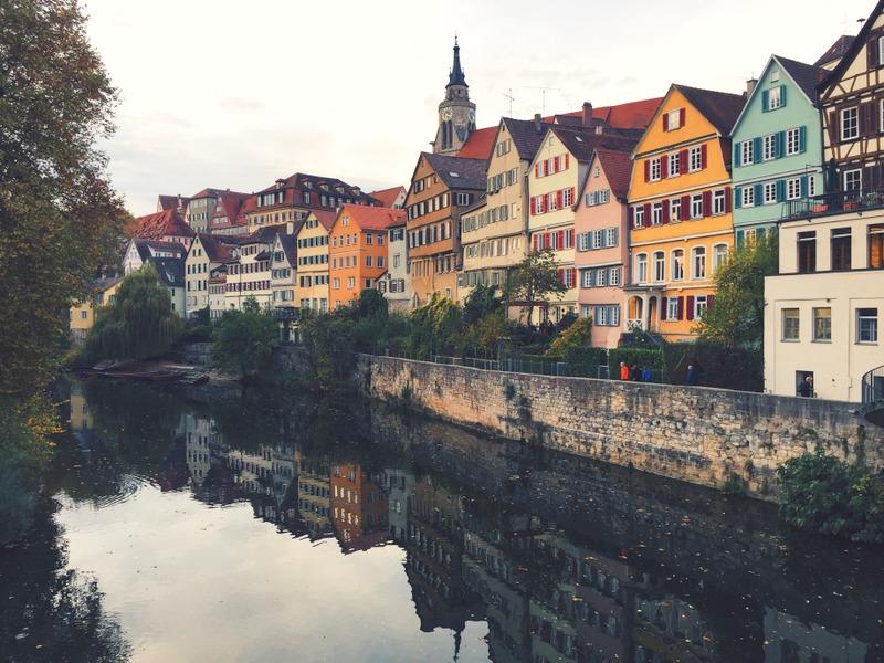 Tuebingen Altstadt Neckarbruecke Ausflugstipp