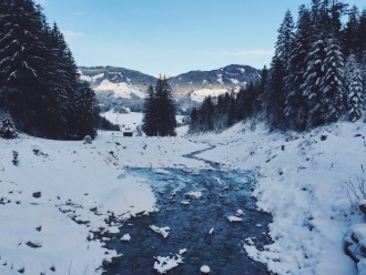 Winterlandschaft Tirol Oesterreich Winterurlaub