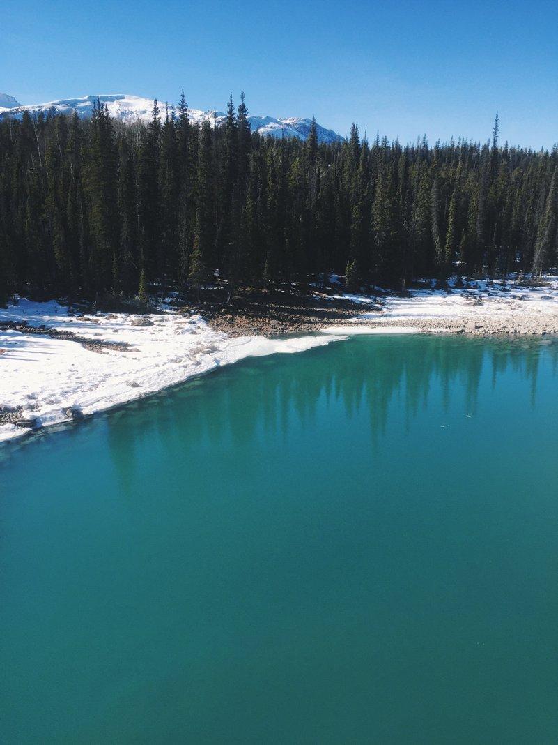Athabasca Falls Kanada Rocky Mountains Jasper