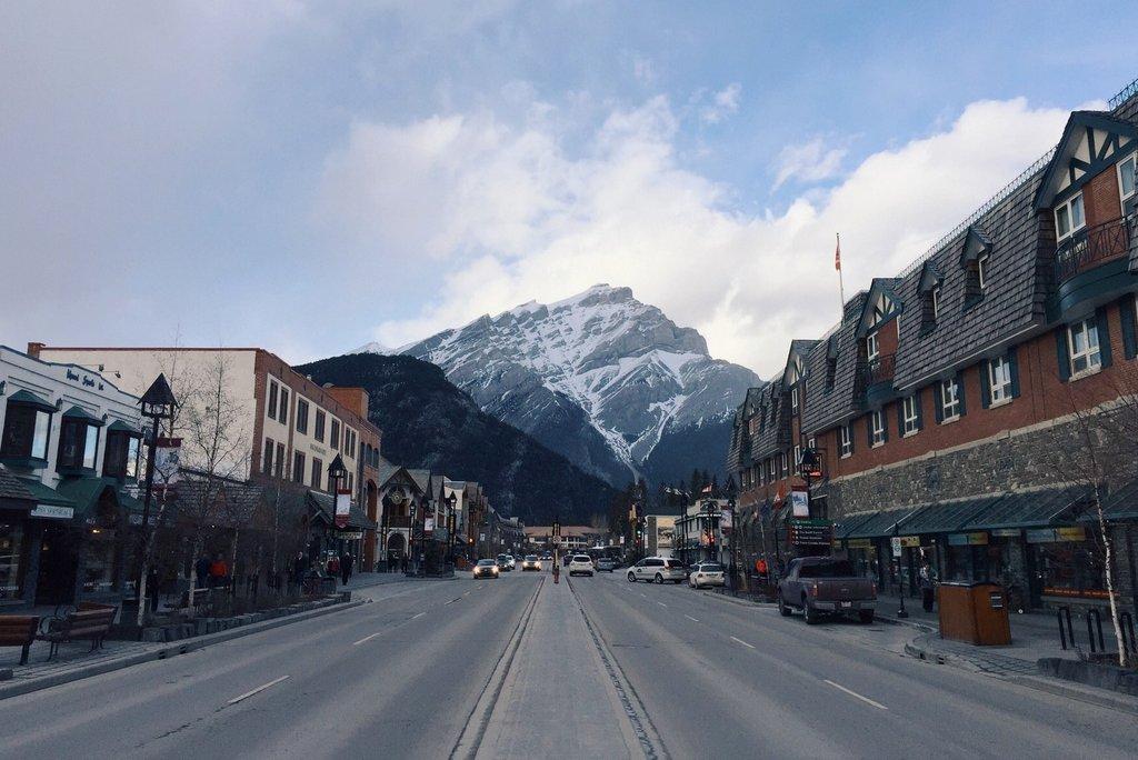 Banff Zentrum im Winter Tipps