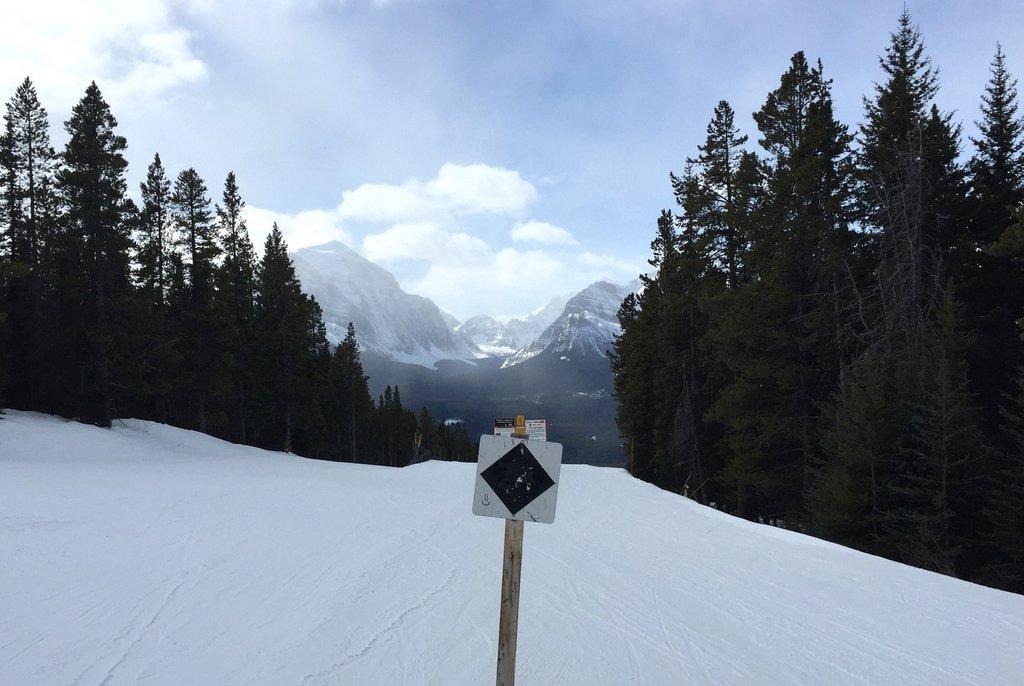 Black Diamond Skipiste Lake Louise Kanada
