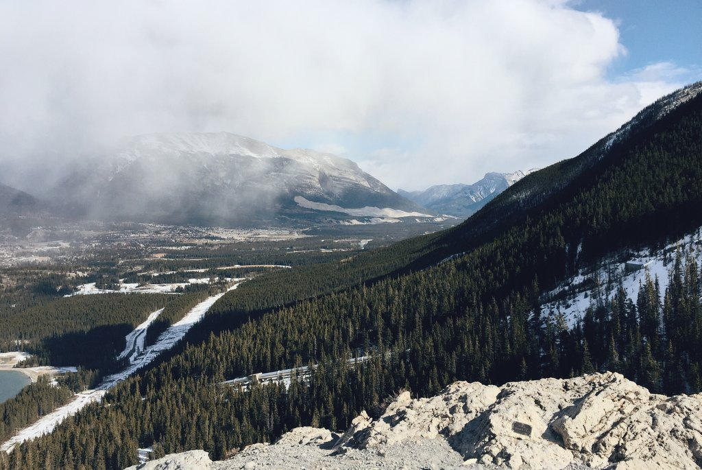 Canmore WInter Roadtrip