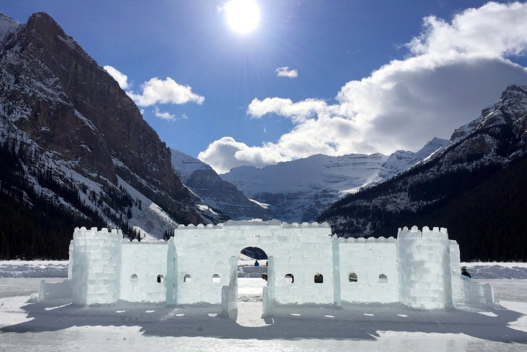Lake Louise Winter Ice Castle