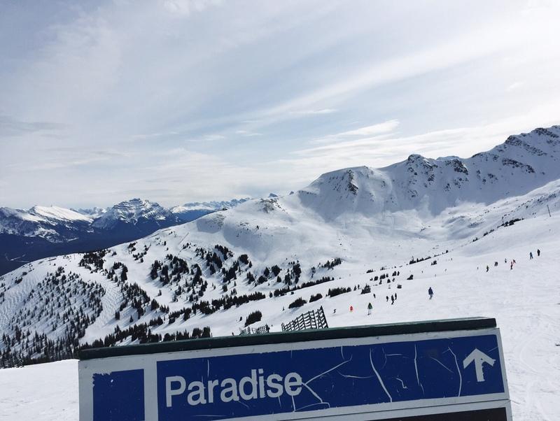 Marmot Basin Jasper Skifahren