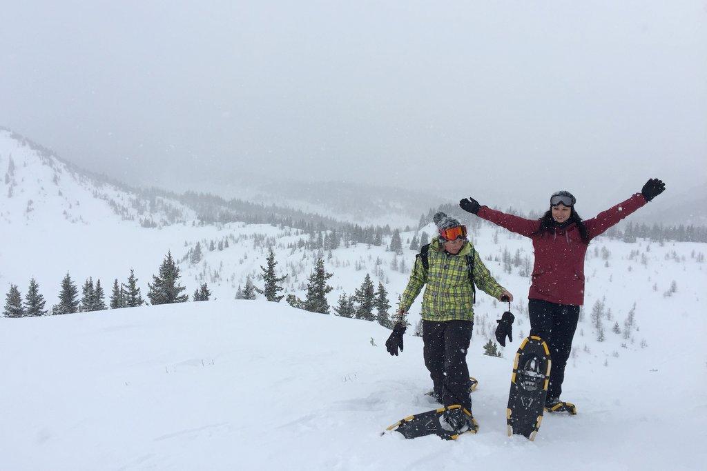 Schneeschuhwandern Banff Winter