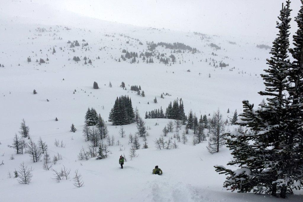 Schneeschuhwanderung Kanada Rocky Mountains