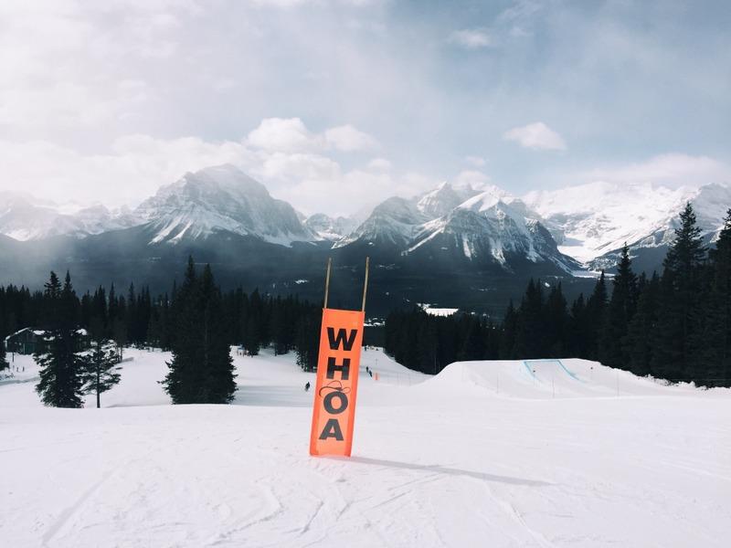 Skifahren Kanada Lake Louise