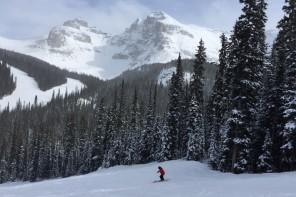 Skifahren Kanada Sunshine Village Banff Rockies