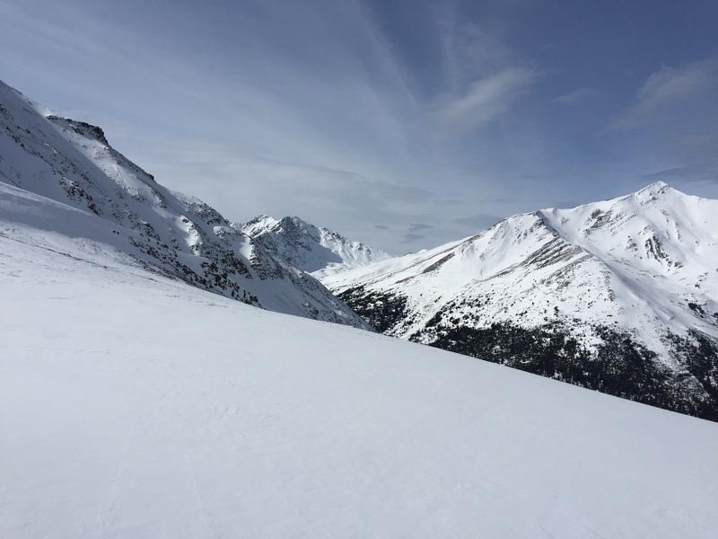 Winterlandschaft Marmot Basin Jasper Kanada Alberta