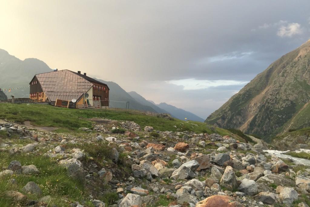 Sonnenuntergang Sulzenauhuette Stubai Tirol