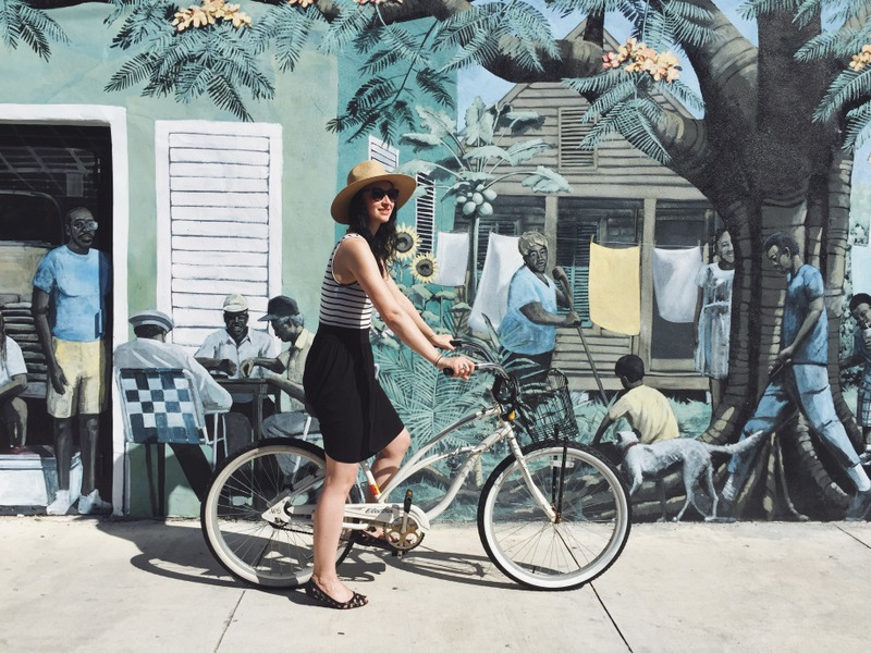 Beach Cruiser Fahrrad Key West Florida