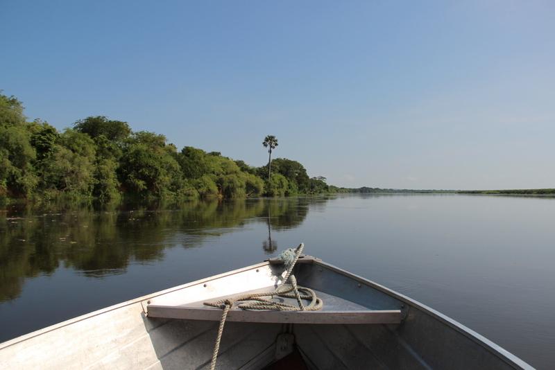 Bootstour auf dem Nil Murchison Falls Uganda