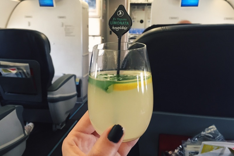 Hausgemachte Limonade Turkish Airlines