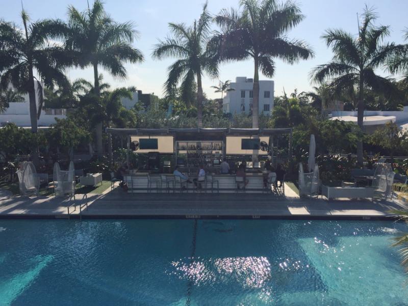 Pool Vagabond Hotel Miami
