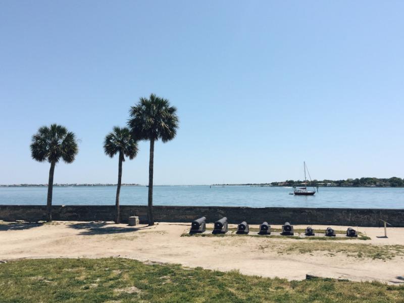 St Augustine Festung Florida Piraten