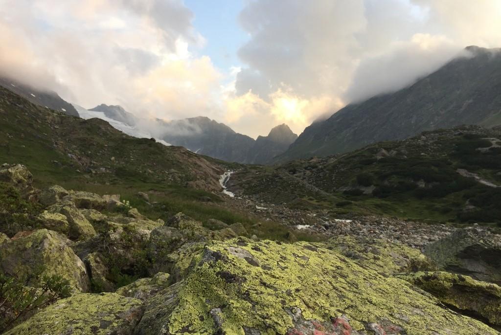 Stubaier Alpen Abends wandern