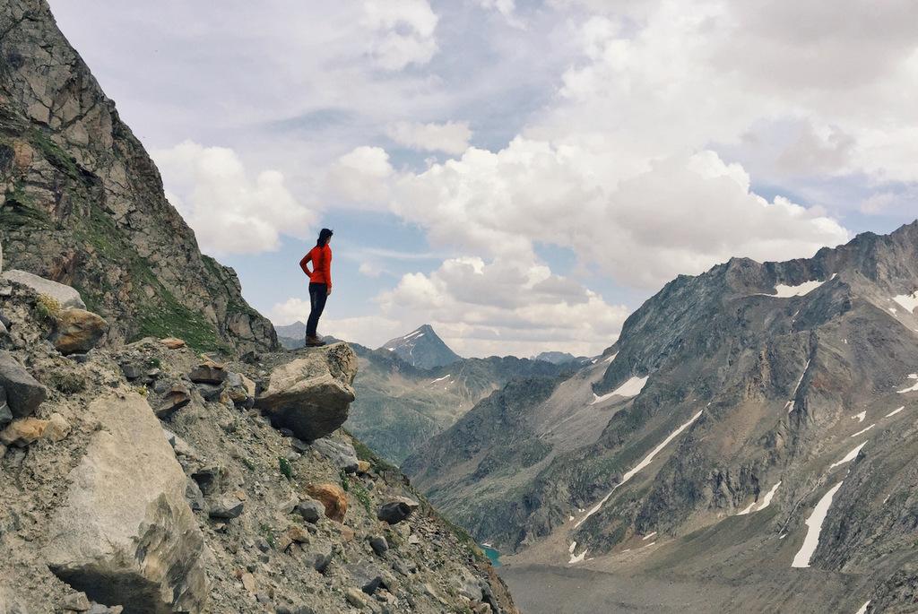 Stubaier Alpen wandern Hoehenweg Peiljoch