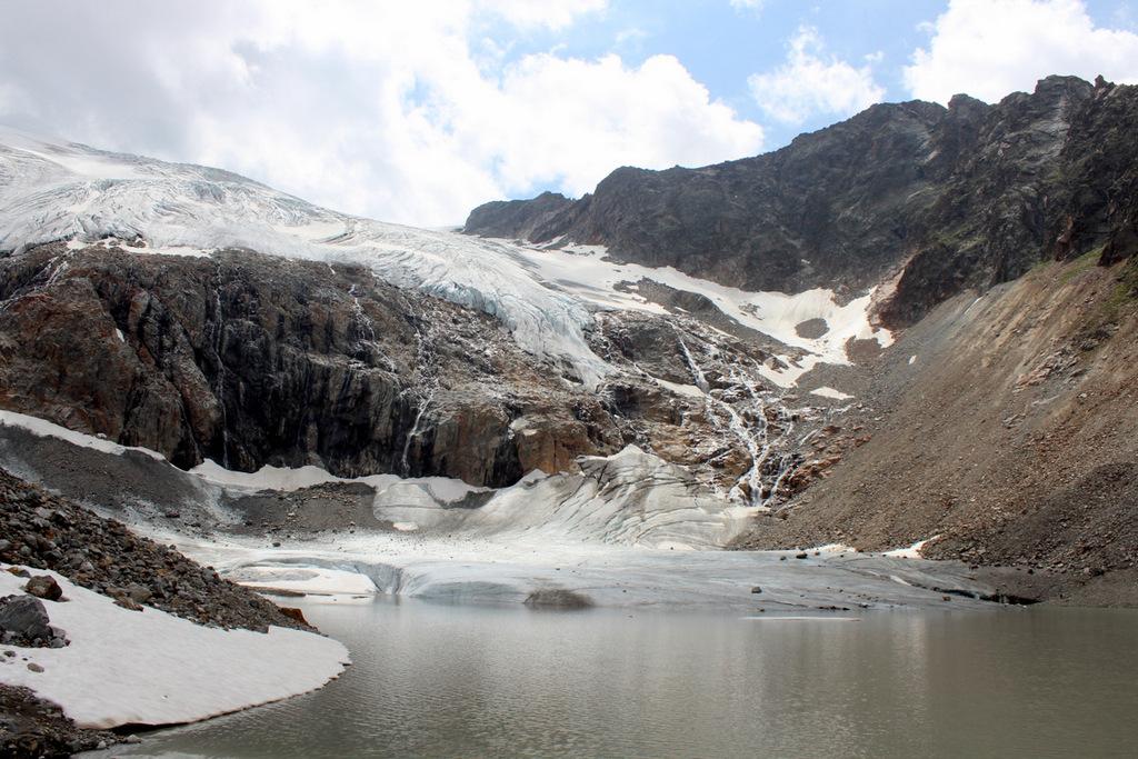 Sulzenauferner Gletscher See Stubai Tirol