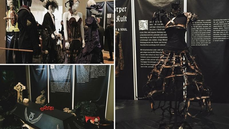 Ausstellung leipzig in schwarz Stadtgeschichtliches Museum WGT