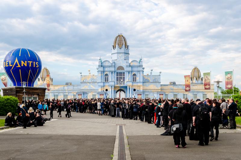 Eröffnungsfeier Belantis Wave Gotik Treffen Leipzig 2016