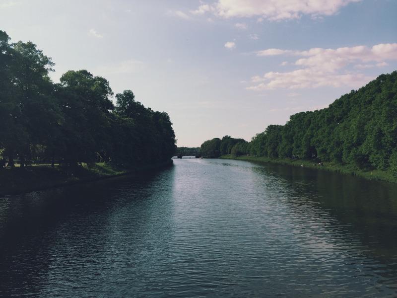 Leipzig Elsterbecken Clara-Zetkin-Park