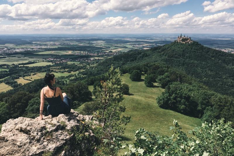 Bester Aussichtspunkt Burg Hohenzollern
