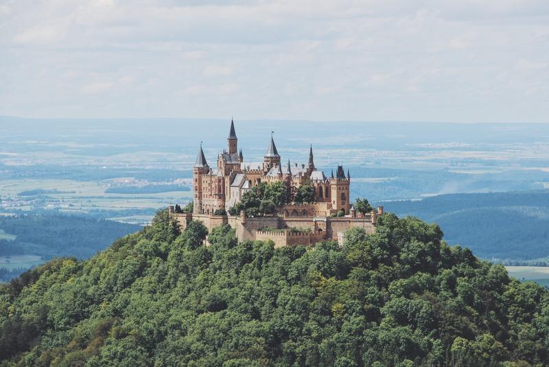 Burg Hohenzollern vom Zeller Horn Schwäbische Alb Tipp