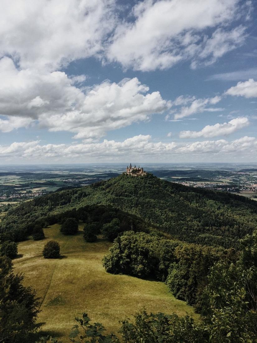 Burg Hohenzollern bester Aussichtspunkt