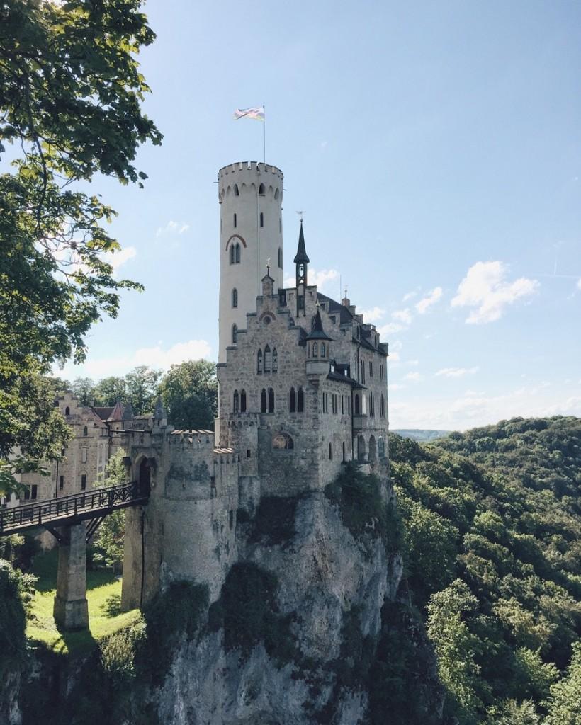 Schloss Lichtenstein Märchenschloss Schwäbische Alb