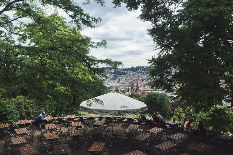 Stuttgart Biergarten Karlshoehe Tschechen und Soehne