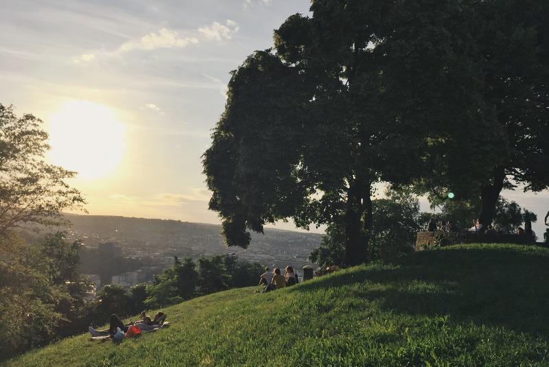 Stuttgart Aussicht Teehaus Weissenburgpark