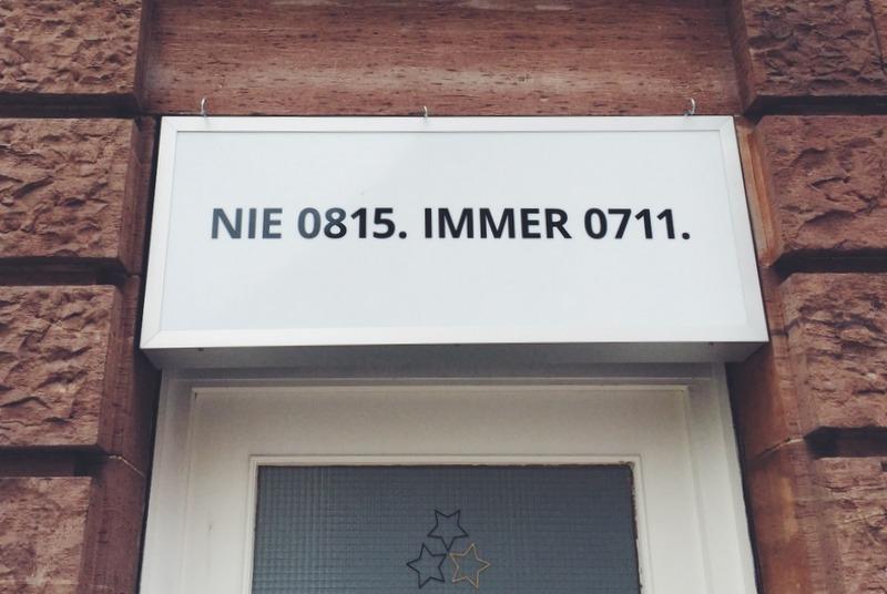 Stuttgart nie 0815 immer 0711