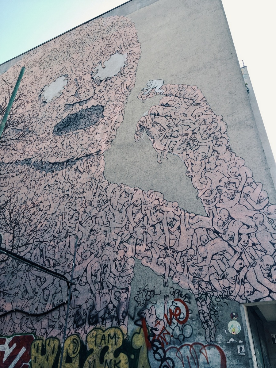 Mural Blu Berlin Kreuzberg