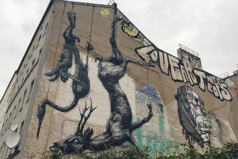 ROA Mural Streetart Berlin Kreuzberg