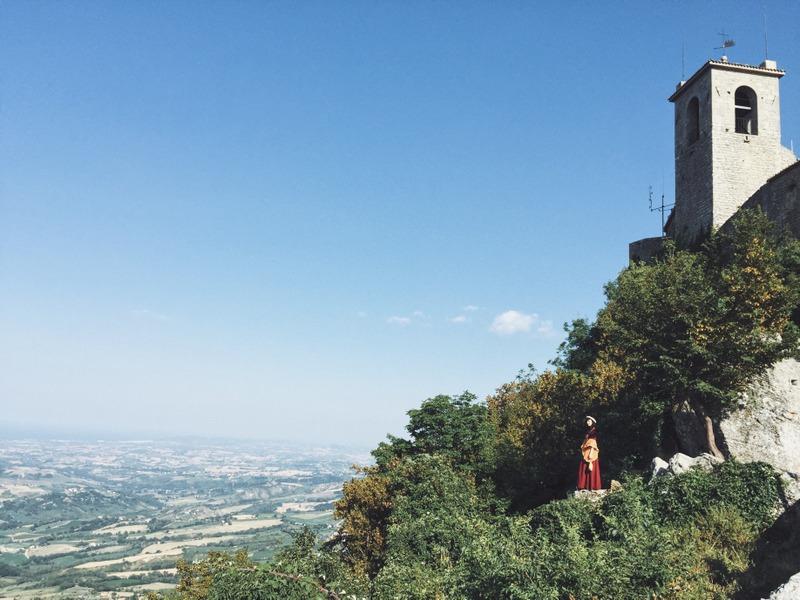 San Marino Altstadt Torre Guaita