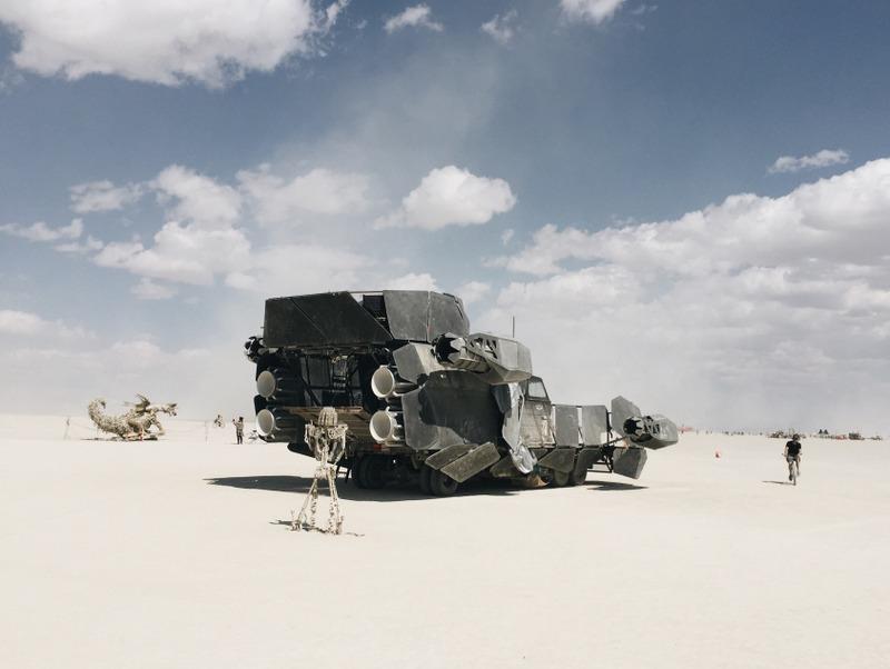 Art Car Fahrzeug Burning Man 2016