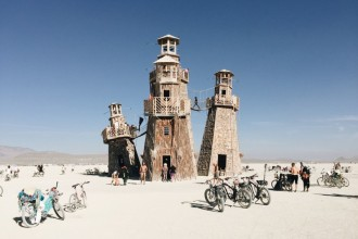 Black Rock City Lighthouse Project Burning Man