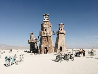 Black Rock City Lighthouse Project Burning Man