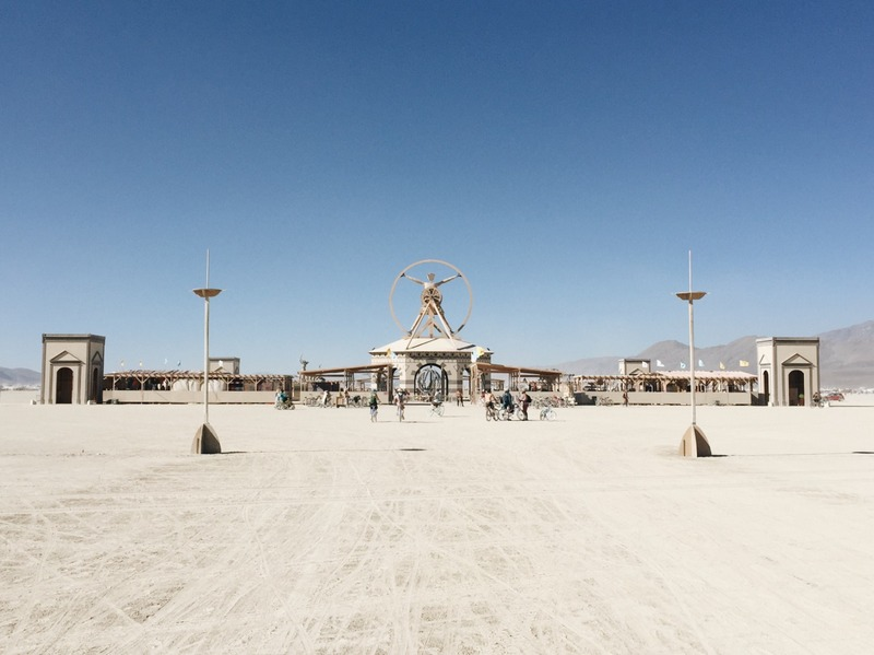 The Man Figur Burning Man 2016