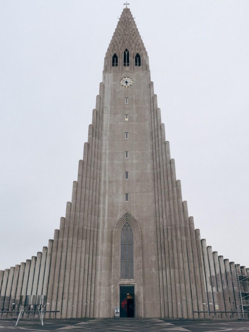 Hallgrimskirkja Reykjavik Sehenswuerdigkeiten