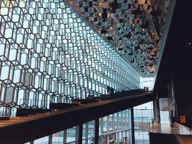 Harpa Concert Hall Oper Reykjavik